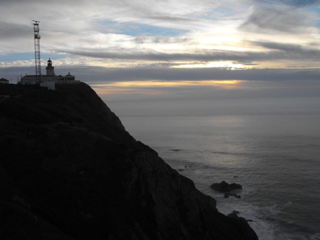 západ slunce cabo da roca