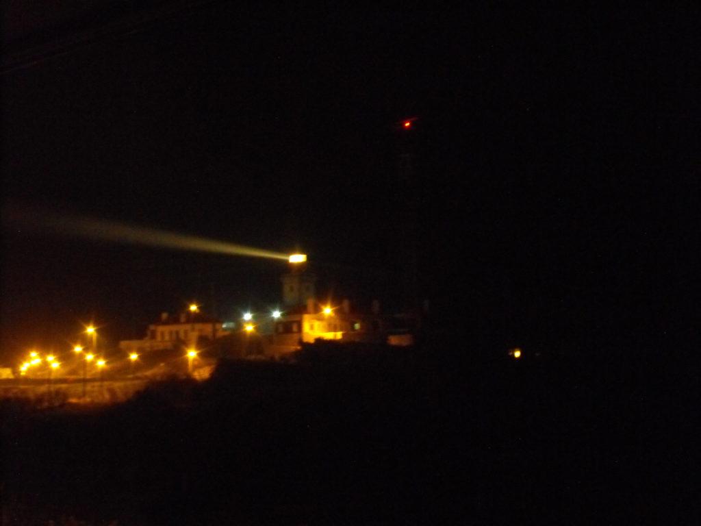 noční maják cabo da roca