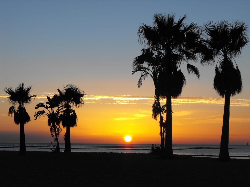 západ slunce Chipiona