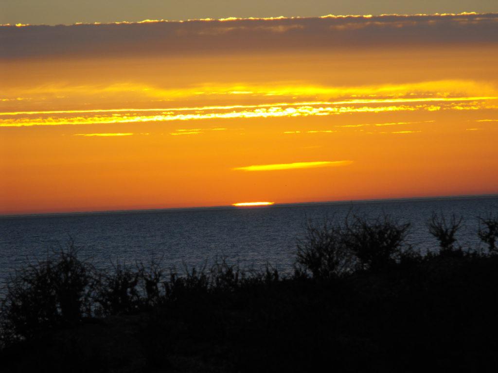 západ slunce La Rochelle