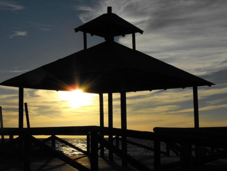 západ slunce Rota